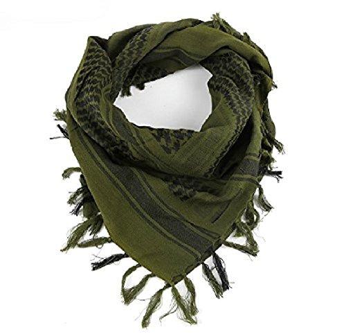 Eenvoudig ontwerp Tactical Desert Shemagh Arabia Beach Sjaal (Army Green) (Kleur: Army Green, Maat : 110x110cm)