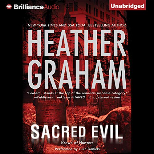 Sacred Evil                   By:                                                                                                                                 Heather Graham                               Narrated by:                                                                                                                                 Luke Daniels                      Length: 9 hrs and 23 mins     720 ratings     Overall 4.2