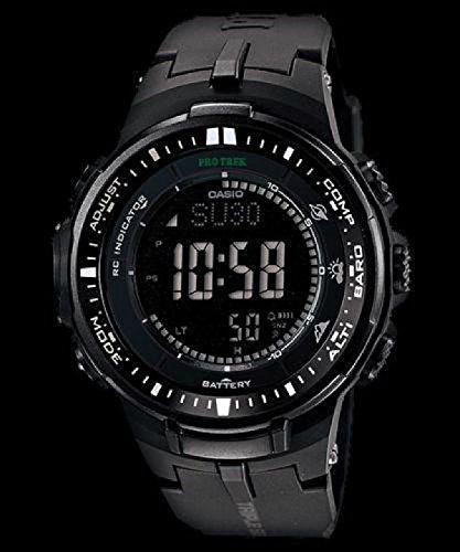 『[カシオ]CASIO 腕時計 PROTREK プロトレック PRW-3000-1A オールブラック メンズ [逆輸入モデル]』の3枚目の画像