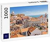 Lais Jigsaw Puzzle Vista panorámica sobre los tejados de la Alfama, Lisboa, Portugal 1000 Piezas