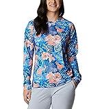 Columbia Camiseta de Manga Larga para Mujer, Talla S, Color