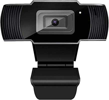 QLPP Webcam 1080P Full HD, Webcam USB con Microfono Compatibile con Windows, Webcam per PC Portatile, Webcam Plug And Play,manualfocus - Trova i prezzi più bassi