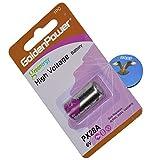HQRP 6-Volt Battery Compatible with Innotek ADV-1000 ADV-1000E ADV-1000P Receiver Dog Collar + Coaster