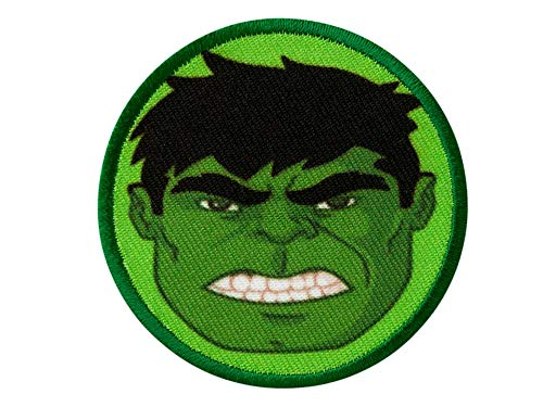 AVENGERS - Hulk Button - Aufnäher Aufbügler Applikation Patch - ca. 6 cm