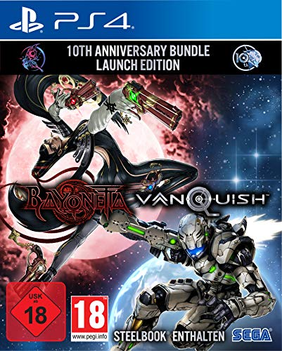 Bayonetta & Vanquish 10th Anniversary Bundle Limited Edition (PS4)