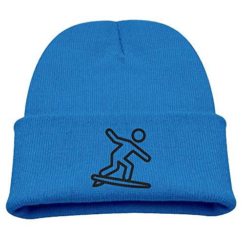 ocaohuahuaba Skateboard Baby Beanie Hat Toddler Winter Warm Knit Woolen Cap for Boys/Girls