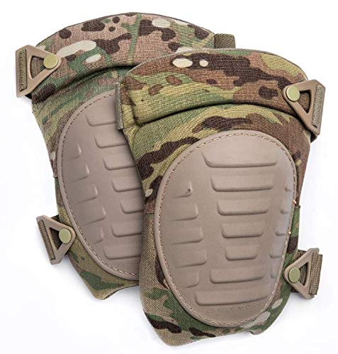 ArmyProperty Kneepads, Multicam/OCP, NSN 8465-01-599-7026, USGI Issue