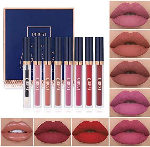 7Pcs Matte Liquid Lipstick 1Pcs Lip Plumper Makeup Set Kit Long Lasting Waterproof Velvet Lip product image