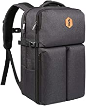 Inateck 40-42L Carry on Travel Backpack Flight Approved Cabin Size Hand Luggage Rucksack Suitcase Students College School Large Capacity Bag for 17 inch Laptop Men Women