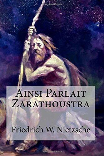 因此說出Zarathustra