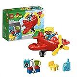LEGO DUPLO Ma ville L'avion Jeu de construction, 2 Ans et Plus, 12 Pièces  10908