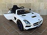 MERCEDES SLS 2017 12V 2.4G VIDEO MP4 WHITE