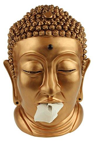 Rotary Hero - Buddha Taschentuchbox/Taschentuchspender/Kosmetiktücherbox - Messing
