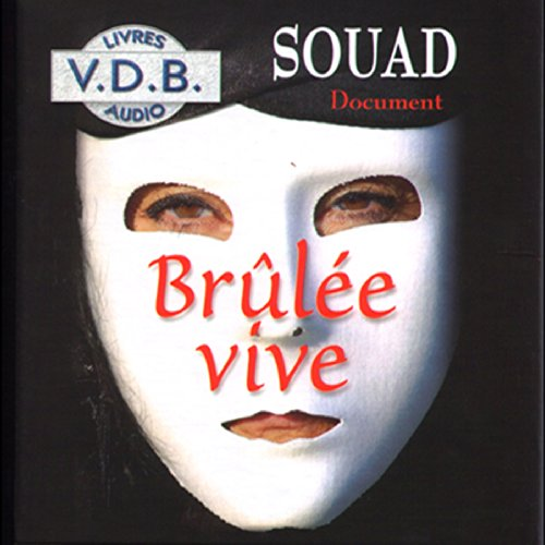 Brûlée vive audiobook cover art