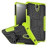 BCIT Lenovo Phab 2 Cover Escabroso Durable Estuche Protector TPU/PC Funda Carcasa Case para Lenovo Phab 2 - Verde