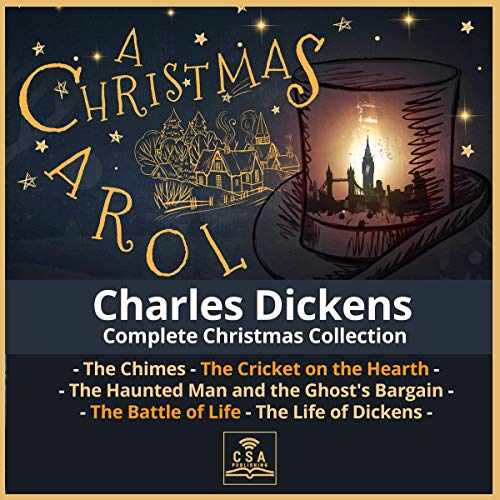 Couverture de Charles Dickens Complete Christmas Collection