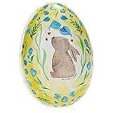 com-four Huevo de Pascua para Rellenar - Relleno Colorido para Pascua - Huevo de Pascua Grande con Motivos de Pascua en el diseño del Sr. y la Sra. Panda (01 Pieza - Conejo)
