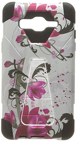 HR Wireless Phone Case for Samsung Galaxy On5 - Purple Lily