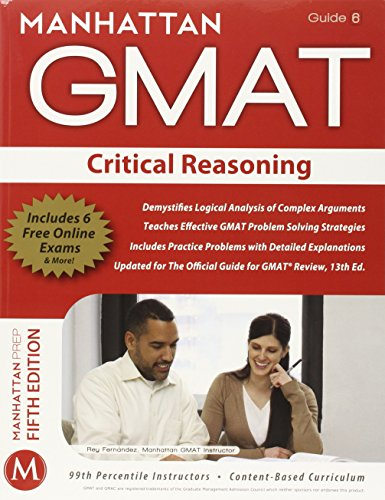 Manhattan GMAT Verbal Strategy Guide Set: Critical Reasoning, Reading Comprehension, Sentence Correction