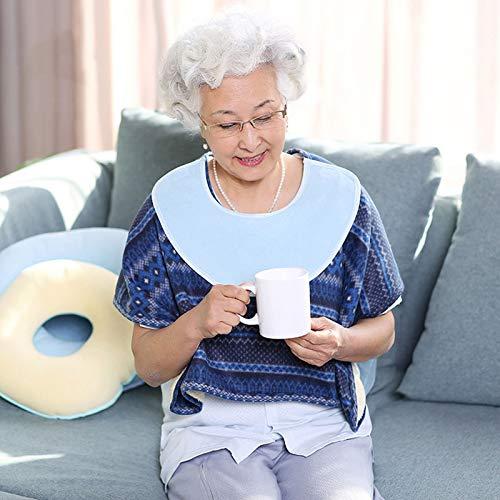 RANRANHOME Engrosada cálido Silla de Ruedas Chal, cálido Terciopelo Postrado en Cama Paciente Anciano Hombro Manta Caliente, Doble Capa Plus Capa Adecuado para Aged Care Products