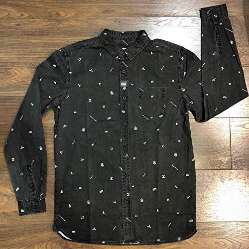 Globe Lost Vegas LS Shirt – Chemise, Homme, Noir (M Vintage Noir