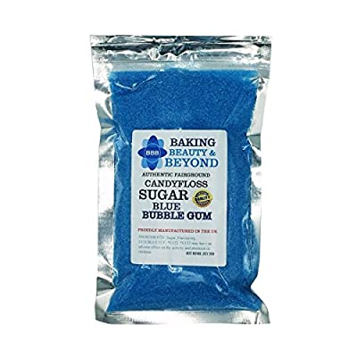 100g professional machine ready candy floss sugar, 30 flavours to choose from (blue bubblegum) 100g Professional Machine Ready Candy Floss Sugar, 51 Flavours to Choose from (Bubblegum) 51ZkKcREbGL