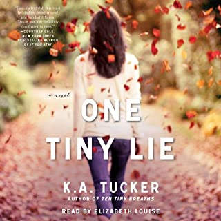 One Tiny Lie     A Novel              Auteur(s):                                                                                                                                 K. A. Tucker                               Narrateur(s):                                                                                                                                 Elizabeth Louise                      Durée: 10 h et 11 min     Pas de évaluations     Au global 0,0