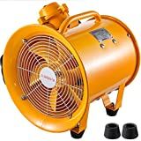 Mophorn Explosion Proof Fan 12 Inch(300mm) Utility Blower 550W 110V 60HZ Speed 3450 RPM for Extraction and Ventilation in Potentially Explosive Environments