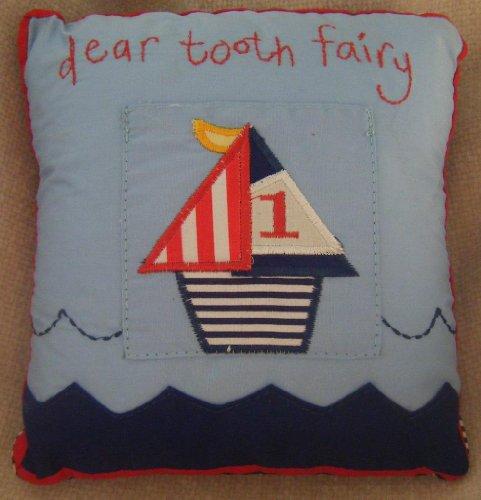 Gisela Graham Ships Tooth Fairy Cushion