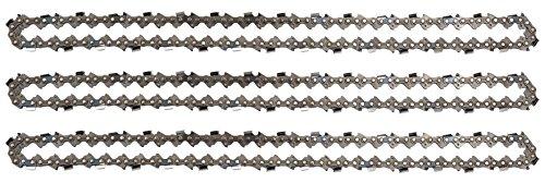 """3 tallox cadenas de sierra .325"""" 1,5 mm 64 eslabones 38 cm full-chisel compatible con DOLMAR HUSQVARNA"""