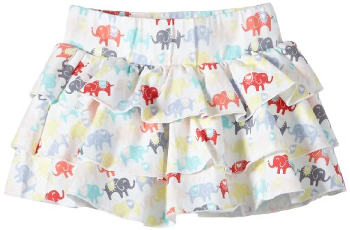 MEXX - Baby Girls Skirt C&S Jupe Bébé fille - Blanc (Paper 112) - FR : 58 (Taille fabricant : 56)