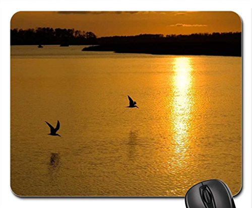 Vina End of Summer Mouse Pad, Mousepad (Birds Mouse Pad)