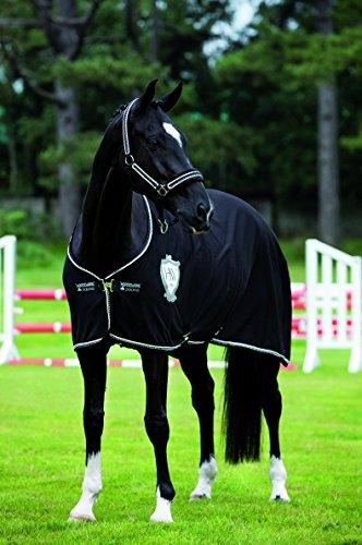 Horseware Rambo diamanté Cooler – Black & diamanté 140 cm