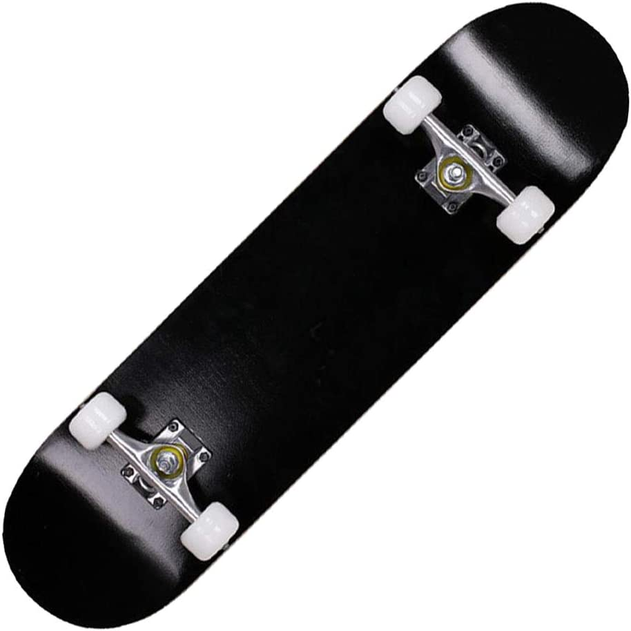 Sumeber Standard Skateboards for Beginners Kids Boys Girls Youths Adults Starter-Complete Skate Boards 31x 8 Maple Wood Skateboard