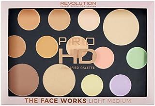 Revolution Pro HD palet - The Works Light/medium