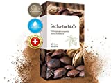 MEDICOM Sacha-Inchi-Öl Kapseln • 500 mg pro Tagesdosis • reich an Omega 3-6-9 Fettsäuren • optimale Bioverfügbarkeit • Ayurveda-Superfood, 60 Stück