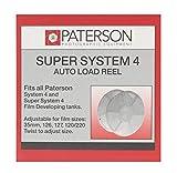 Paterson PTP119 - Espiral ajustable para película de 35 mm, 120 o 220 (multi-reel), color blanco
