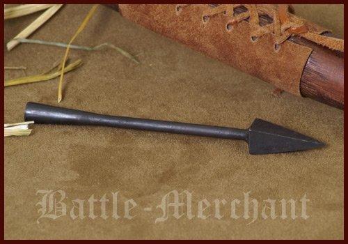 Battle-Merchant Histórica punta de flecha I – flecha y arco largo