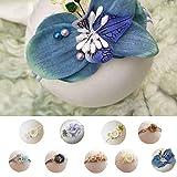 Centitenk Wuqiong Baby-Fotografie Kopfschmuck Baby-Mädchen-Foto-Handbuch Band Haarband Kopf Blume Newborn Foto Prop-Haar-Band-Zubehör