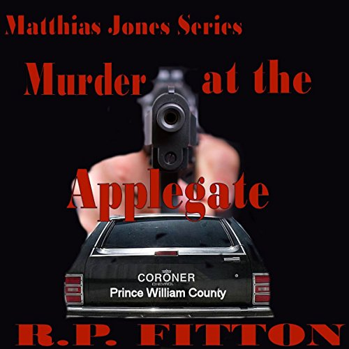 Murder at the Applegate cover art