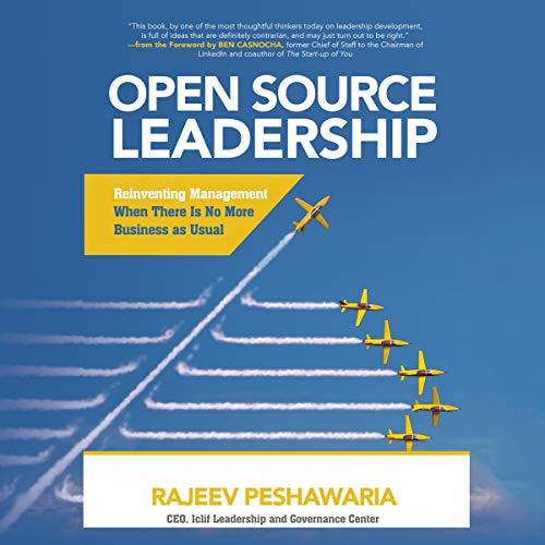 Couverture de Open Source Leadership