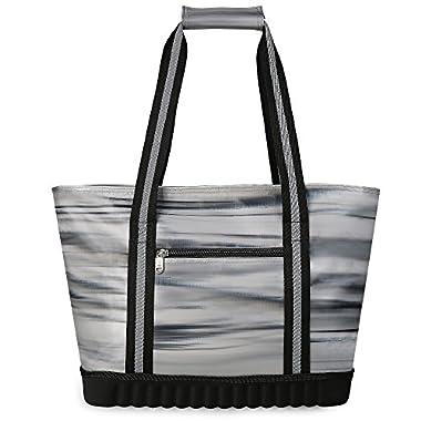 VIGBAGNIA Cooler Bag Insulated 30-Can Soft Sport Tote Bag Fodable Snapbasket (Multi)