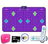 Wireless Double Dance Pad,not-Slip Foldable Dance Mat Hd Tv Computer Dual-use Children Gift