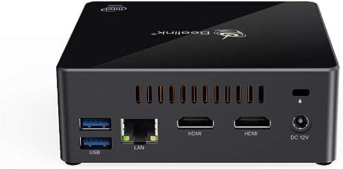 Beelink Gemini X55 Windows 10 Mini PC Computer 8GB RAM 256GB SSD Intel Pentium J5005 4M Cache, Up to2.8GHz, Support 4...