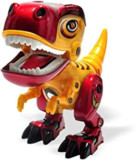 Angelhood Dinosaur Robot Toy, Electronic Dinosaur Robot, Plastic Alloy Dinosaur Toy Suitable for Children Over 3 Years Old