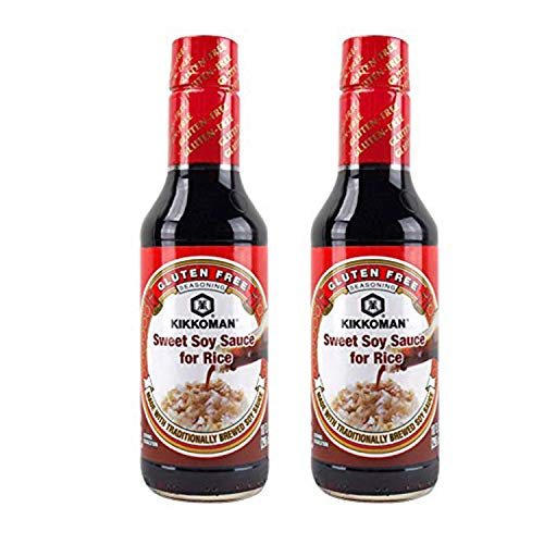 Kikkoman Sweet Soy Sauce for Rice, 10 Ounce (Pack of 2)