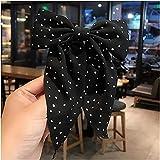 Monnstar Horquilla para el pelo New Butterfly Clip elegante doble Bowknot Horquilla para mujeres y niñas, accesorio para el pelo (1)