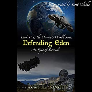 Defending Eden audiobook cover art