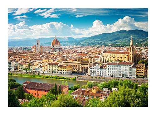 Puzzle World Famous Tourist Attraction Schöne Firenze, Italien Jedes Stück ist EIN Unikat, passt Alles zusammen Perfekt (300/500/1000 Stück Umweltfreundliche Dekorative Malerei)