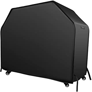 VicTsing BBQ Cover, 210D 58-inch Heavy Duty Waterproof Gas Grill Cover with Handles and Straps Fits Weber, nexgrill, Royal Gourmet,Kenmore,Broil King, Char Broil 3-4 Burner Barbecue Grill
